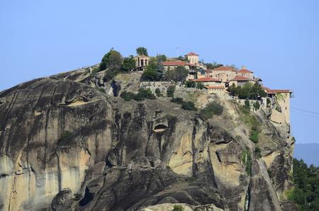 metamorphosis: Greece, Meteora, monastery Great Meteoron aka  Metamorphosis