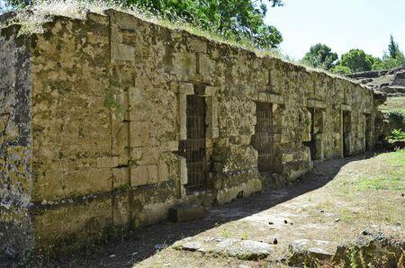 prison: Greece, Zakynthos, old prison in medieval fortress