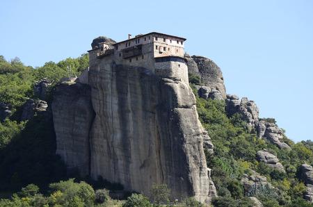thessaly: Greece, Meteora, Holy Monastery of Saint Barbara Roussanou