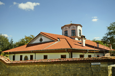 Bulgaria, Plovdiv, church Sveti Nedelya in Old Town district aka Staria Grad, a Unesco world heritage site, became European Capital of Culture 2019