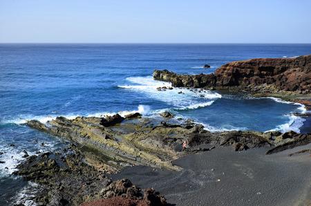 golfo: El Golfo in Lanzarote, Spain