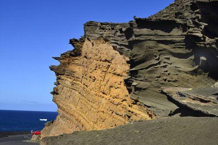 Lanzarote, Canary Island, bizarre rock formation Charco de los Clicos