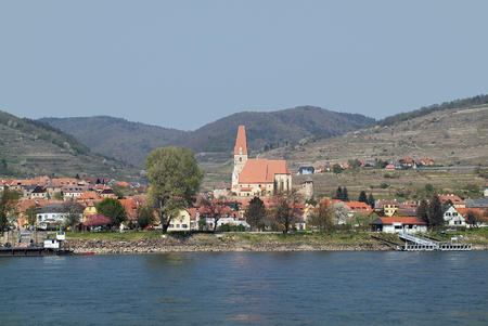 Austria, Weissenkirchen in Danube Valley