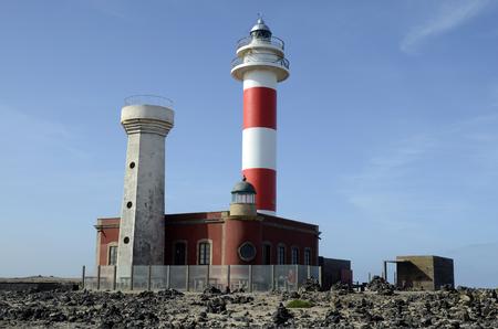 Spain, Canary Island, Fuerteventura, lighthouse Faro de Toston