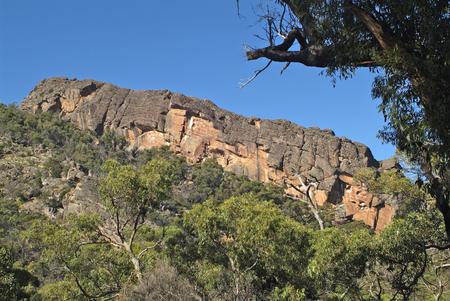 Australia, rock formation in Grampians nationalpark in Victoria