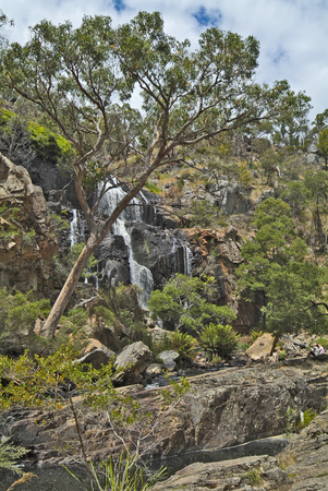 Australia, MacKenzie Falls in Grampians nationalpark