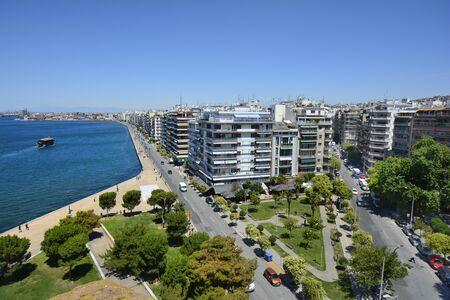 Greece, Thessaloniki aka Saloniki Stock Photo