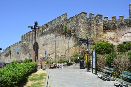 Greece, Thessaloniki aka Saloniki, old castle