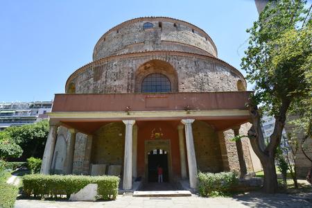 rotunda: Greece, Thessaloniki aka Saloniki, Rotunda - former church and mosque, Unesco World heritage site