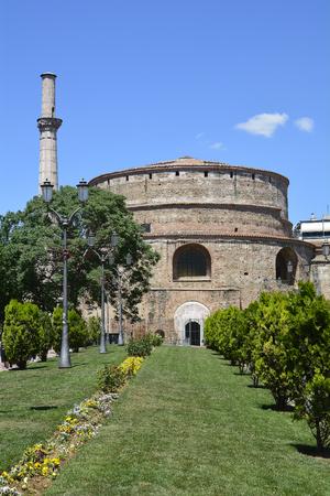 Greece, Thessaloniki aka Saloniki, ancient building named Rotunda, former mosque and church, a Unescoa World heritage site