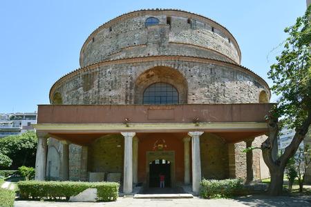 Greece, Thessaloniki aka Saloniki, Rotunda - former church and mosque, Unesco World heritage site