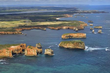 Australia, Victoria, bay of islands