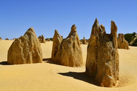 Australië, WA, Nationaal Park, toeristische trekpleister en natuurmonument Stockfoto