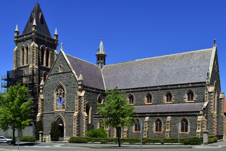 Goulborn, NSW, Australia - Saints Peter and Paul's Old Cathedral in the village in New South Wales Editorial