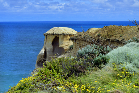 Australia, VIC, coast on Great Ocean Road in Port Campbell National Park Stock Photo