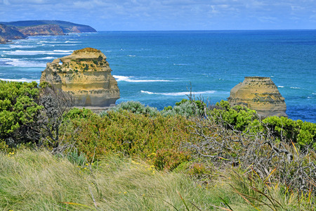 Australia, VIC, Great Ocean Road in Port Campbell National Park Stock Photo