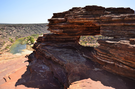 Australia, Kalbarri National Park, natures window