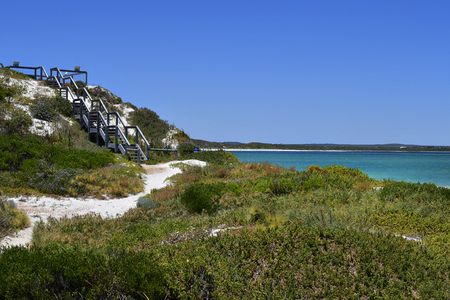 Australia, WA, Thirsty Point lookout on Indian ocean