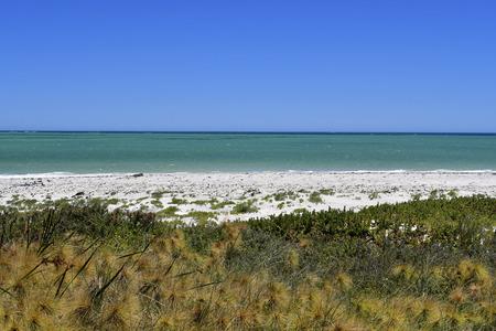 Australia, WA, sandy beach in Cervantes on Indian ocean