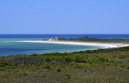 Australia, WA, Hansen bay with Thirsty Point lookout