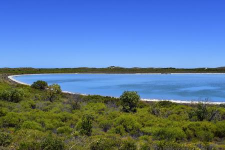 Australia, WA, lake Thetis near Cervantes