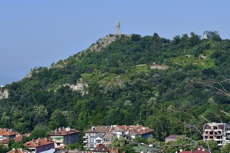 Plovdiv, Bulgaria - June 08, 2018: Alyosha statue, a Soviet monument on Bunarzhik Tepe aka The Liberators Hill