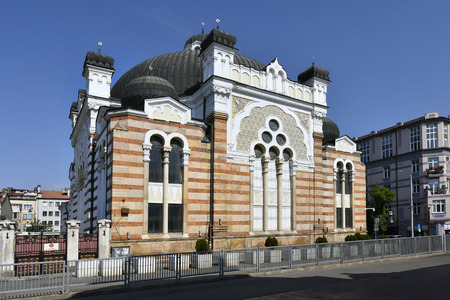 Bulgaria, Sofia, jewish synagogue