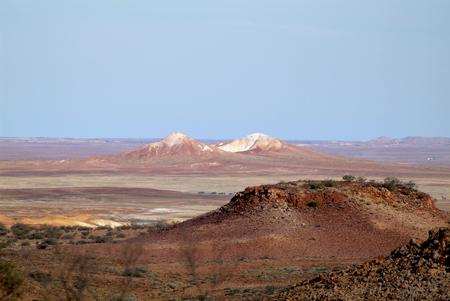 Australia, landscape near Coober Pedy