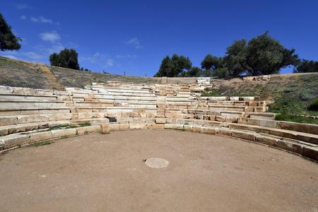 Greece, ancient Minoan ruins of Aptera Stock Photo
