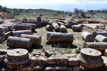 Greece, ancient Minoan ruins of Aptera in Crete
