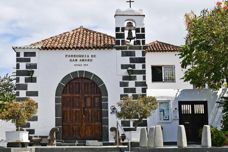 Spain, Canary Islands, Tenerife, parish of San Amaro in Puerto de la Cruz Editorial