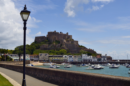 Great Britain, Jersey Island, Gorey, Mont Orgueil Castle