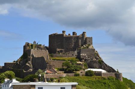 OK, Great Britain, Jersey Island, Mont Orgueil Castle aka Gorey Castle
