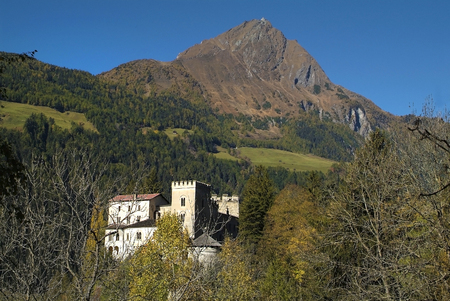 Austria, castle  Weissenstein in Matrei, Osttirol