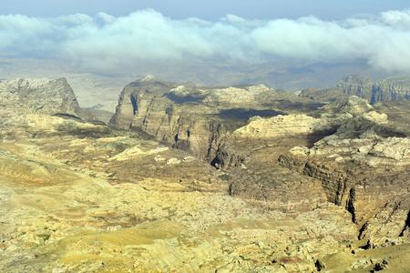 Jordan, treeless and arid landscape in Masuda Proposed Reserve