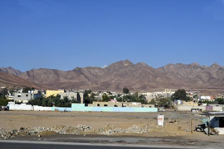 Jordan, village on countryside near Aqaba