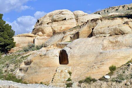 Jordan, tomb in ancient Petra