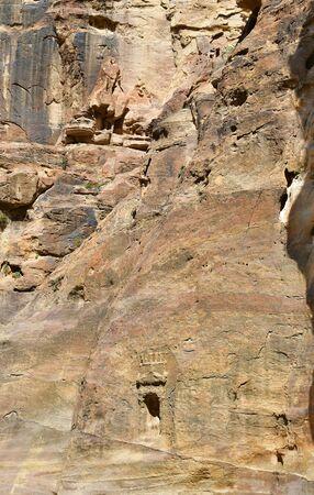 Jordan,tomb in ancient Petra