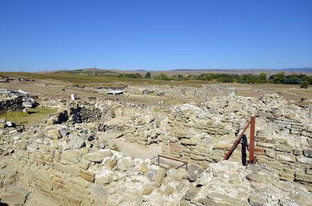 North Macedonia former FYROM, excavations in ancient Roman Stobi village
