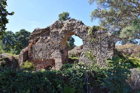 Greece, Epirus, ancient site of Nikopolis near Preveza