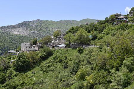 Greece, Epirus, mountain village Tzoumerka, at Aromanian village at National Park of Tzoumerka- Peristeri- Arachthos Gorge and Acheloos Valley