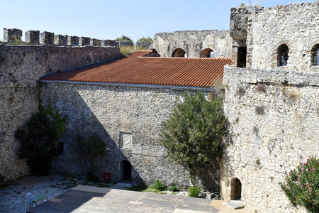 Greece, inside public fortress of Arta in the south of Epirus county 版權商用圖片 - 134991445