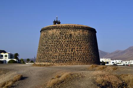 Spain, Lanzarote, Castillo de Las Coloradas in Playa Blanca