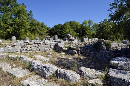 Greece, archaeological site of Dodona, an important ancient Greek oracle Фото со стока