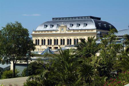 Baden, Austria - July 17, 2009: Casino in the city in Lower Austria