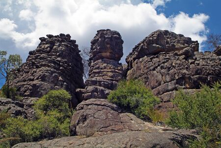Australia, rock formation in Grand Canyon in Grampians National Park, Victoria