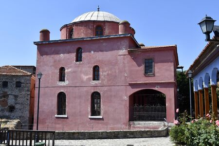 Greece, Kavala, medieval Halil Bey mosque