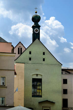 Passau, Germany, Marist monastery with a distinctive onion dome