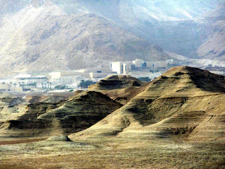 negev: hills and houses in Negev desert
