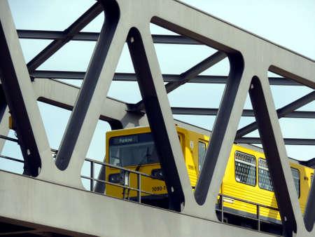 metro to Berlin-Pankow o a bridge